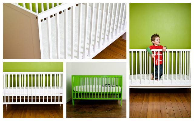 The Mocka Aspiring Cot donated to the St Kilda Mums' Cots for Tots campaign