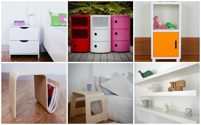 Mocka Bedroom Solutions Bedside Tables