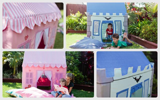 Mocka Kids Fabric Playhouse