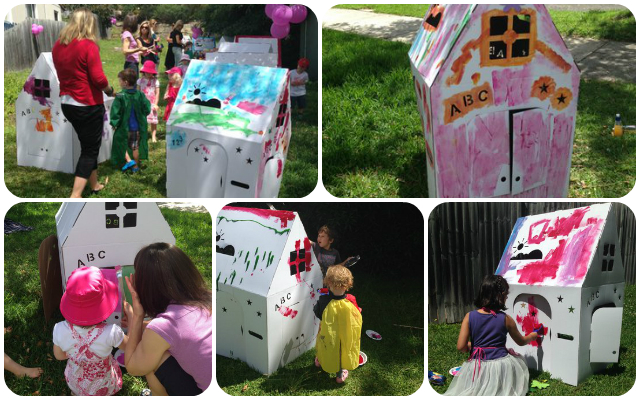 A Mocka Art House birthday party