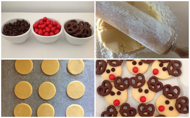 Mocka's Rudolph Reindeer Cookies