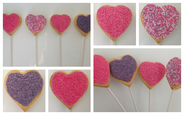 Mocka Mother's Day Heart Cookie Pops