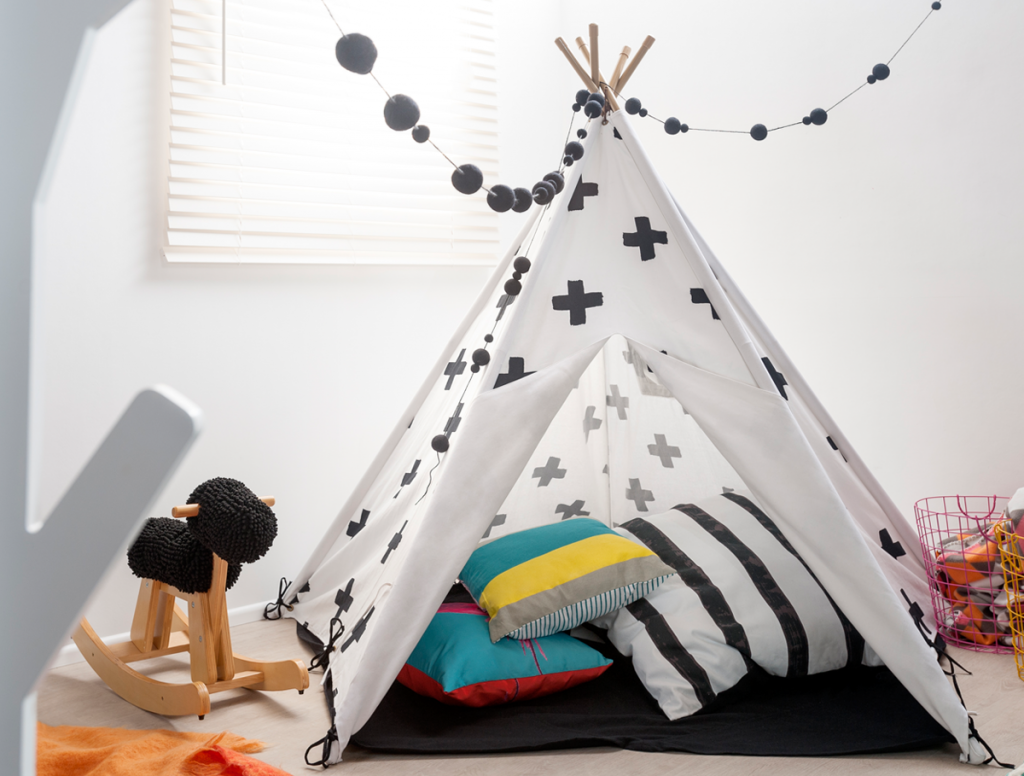 50 things to do on holidays Teepee
