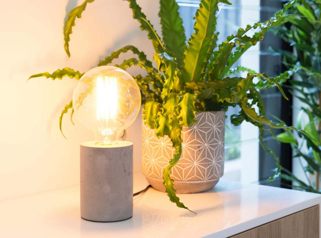 Concrete Lamp - Mocka AU