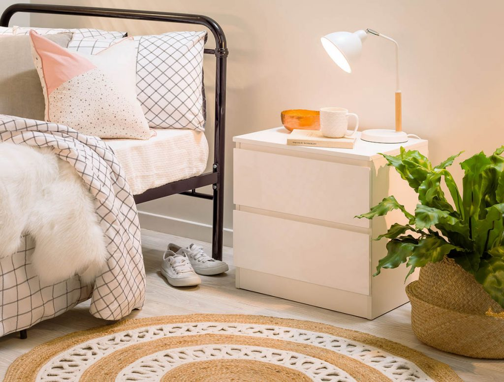 Jolt Bedside Table - Mocka AU