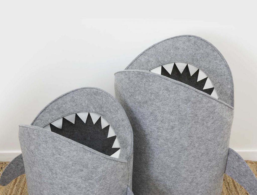 Kids Shark Bin Storage Bins - Mocka AU
